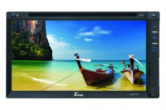 "Tview® - Double DIN 6.95"" Touch Screen LCD DVD/AM/FM Receiver"