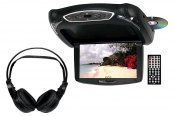 "Tview® - 10.2"" Flip Down TFT Monitor with Built-In DVD Player"