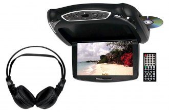Tview® - Flip Down TFT Monitor with Built-In DVD Player