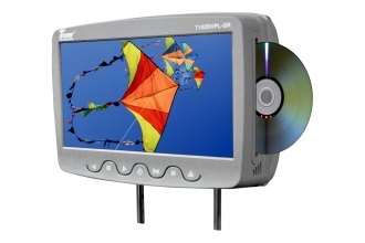 "Tview® - Headrest with 10.1"" TFT Monitor and Built-In DVD Player"