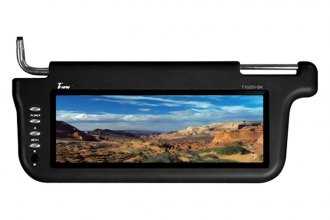 "Tview® - 10.2"" Black Monitor with Built In Sunvisor Driver and Passenger"
