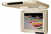 "Tview® - 10.4"" Tan Flip Down LCD Monitor"