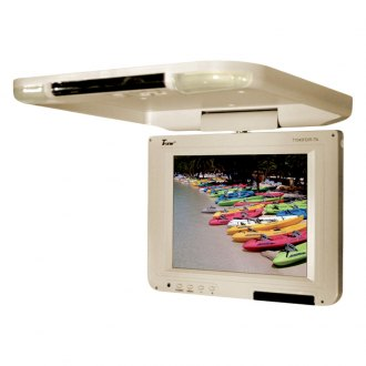 Tview® - 10.4 Tan Flip Down LCD Monitor
