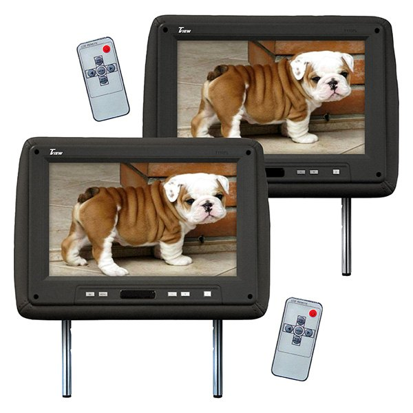 "Tview® - 11.2"" Black Headrest TFT Monitor"
