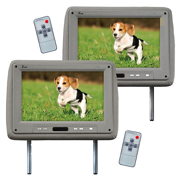 "Tview® - 11.2"" Gray Headrest TFT Monitors"