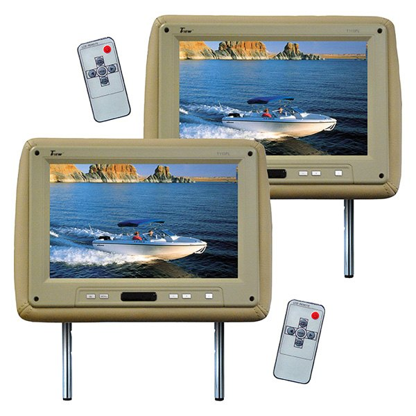 "Tview® - Tan Headrest with 11.2"" Monitor"