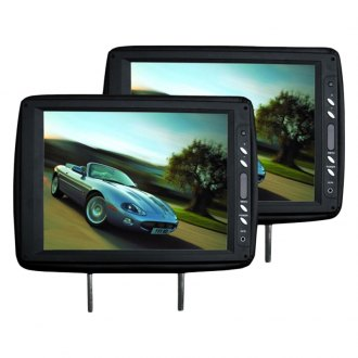 Tview® - Black Headrest with 12 TFT Monitor