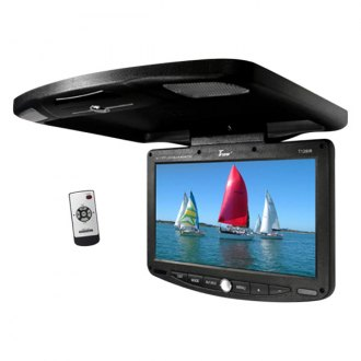 "Tview® - 12"" Flip Down TFT Monitor with Built-In IR Transmitter"