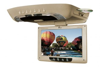 Tview® - 12 Tan Flip Down TFT Monitor with Built-In DVD Player