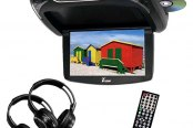 "Tview® - 13.3"" Flip Down TFT Monitor with Built-In DVD Player"