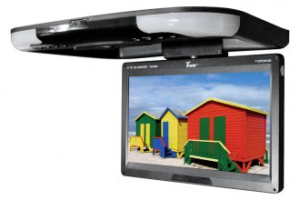 "Tview® - 13"" Flip Down TFT Monitor with Built-In IR Transmitter"