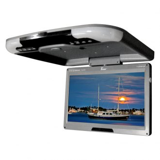 Tview® - 13 Gray Flip Down TFT Monitor with Built-In IR Transmitter