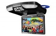 "Tview® - 13"" Flip Down Monitor with Built-In DVD/USB/SD Player"