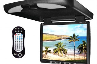 "Tview® - 14"" Flip Down TFT Monitor with Built-In DVD/IR/FM Player"