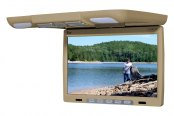 "Tview® - 14.1"" Tan Flip Down LCD Monitor"