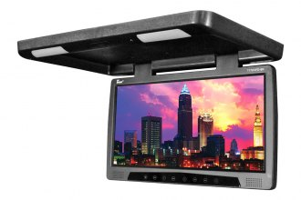 "Tview® - 17"" Flip Down Monitor with Built-In DVD Player"
