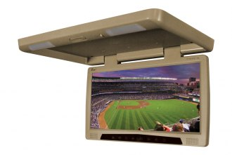 Tview® - 17 Tan Flip Down Monitor with Built-In DVD Player