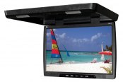 "Tview® - 20"" Black Flip Down TFT Monitor"