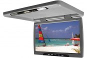 "Tview® - 20"" Gray Flip Down TFT Monitor"