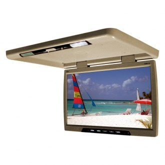 Tview® - 20 Tan Flip Down TFT Monitor