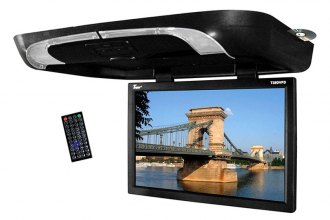 "Tview® - 20"" Flip Down Monitor with Built-In DVD Player"