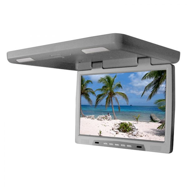 "Tview® - 22"" Gray Flip Down TFT Monitor"