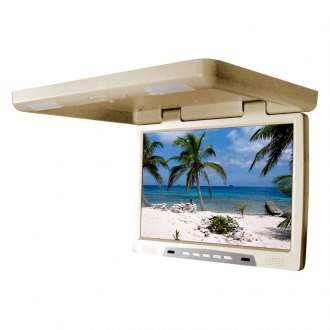 Tview® - 22 Tan Flip Down TFT Monitor