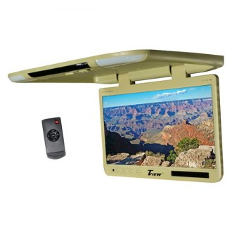 "Tview® - 25"" Flip Down TFT Monitor with Built-In IR Transmitter"