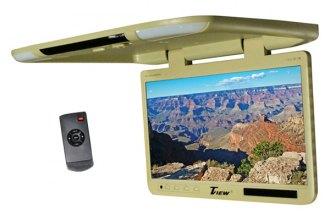 "Tview® - 25"" Tan Flip Down TFT Monitor with Built-In IR Transmitter"