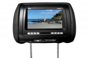"Tview® - Headrest with 7"" Monitor and Built-In DVD Player"