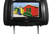 Tview® - Headrest with TFT Touch Screen Monitor and Built-In DVD Player