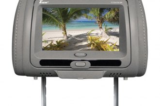 "Tview® - Headrest with 7"" TFT Touch Screen Monitor and Built-In DVD Player"