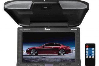 "Tview® - 9"" Flip Down TFT Monitor with IR Transmitter"