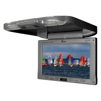Tview® - 9 Gray Flip Down TFT Monitor with IR Transmitter
