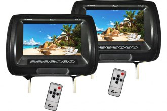 "Tview® - Headrest with 9"" TFT Monitor"