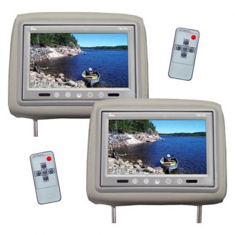 "Tview® - 9"" Headrest TFT Monitor with Built-In IR Transmitter"