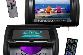 "Tview® - Headrest with 9"" Monitor and Built-In DVD Player"