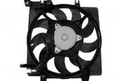TYC® - Left Engine Cooling Fan