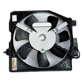 TYC® - A/C Condenser Fan Assembly