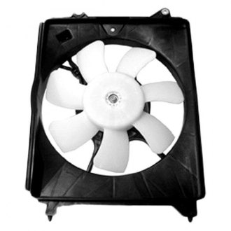 TYC® - Right A/C Condenser Fan Assembly