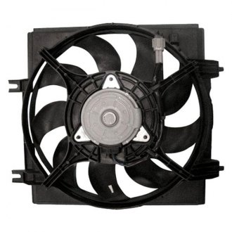 TYC® - Passenger Side A/C Condenser Fan Assembly