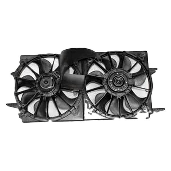 TYC 621150 Chevrolet Replacement Radiator//Condenser Cooling Fan Assembly