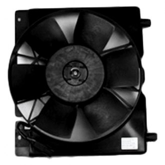 TYC® - Dual Radiator and Condenser Fan