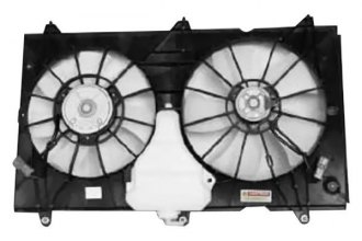 TYC® 620690 - Dual Radiator and Condenser Fan