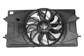 TYC® 620900 - Dual Radiator and Condenser Fan
