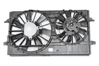 Tyc 621150 Dual Radiator And Condenser Fan