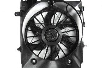 Tyc 621550 Dual Radiator And Condenser Fan