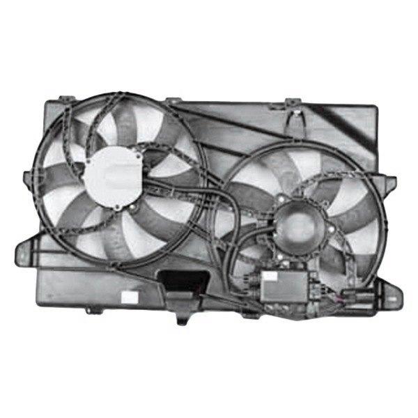 Tyc Dual Radiator And Condenser Fan