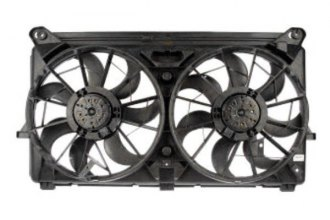 TYC® - Left Dual Radiator and Condenser Fan