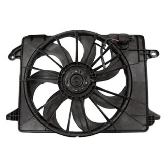 TYC® - Dual Radiator and Condenser Fan Assembly